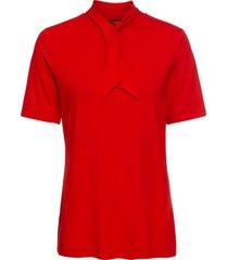 maglia con fiocco (rosso) - bodyflirt