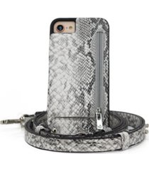 hera cases crossbody 6 or 6s or 7 or 8 or se iphone case with strap wallet
