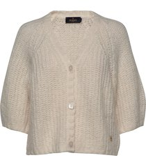 coralie knit stickad tröja cardigan beige morris lady