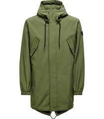 hall softshell parka