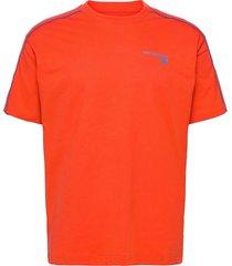 nb classic fashion t t-shirts short-sleeved orange new balance