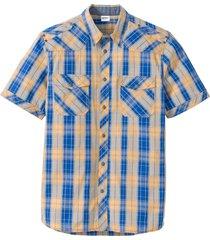 camicia a maniche corte (giallo) - john baner jeanswear