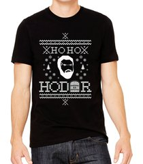game of thrones ho ho hodor funny ugly christmas sweater shirt mens tee