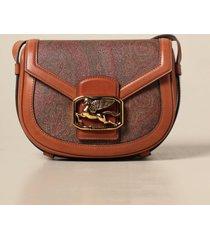 etro crossbody bags pegaso etro shoulder bag in paisley leather