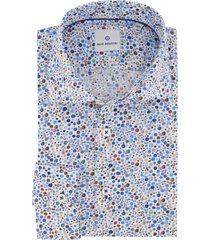 overhemd blue industry blauwe print