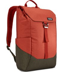 men's thule lithos backpack - orange
