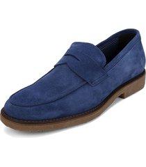 mocasín azul  colore