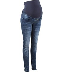 jeans prémaman in look sdrucito skinny (nero) - bpc bonprix collection