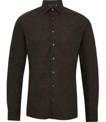 8669 - iver 2 soft overhemd business zwart sand