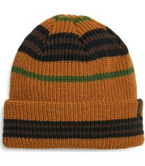 steve madden men's multi striped beanie