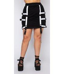 akira plus stopping traffic chain detail mini skirt