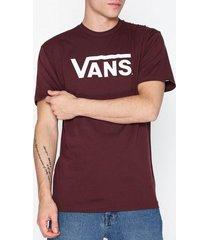 vans classic tee t-shirts & linnen burgundy