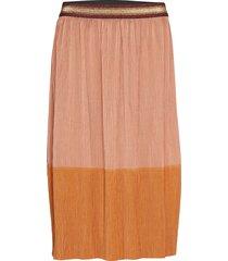 skirt knälång kjol orange sofie schnoor