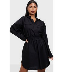 nly one pocket shirt dress loose fit