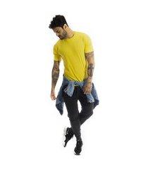 camiseta arimlap amarelo lisa