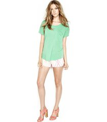 jude shorts - l pink geo
