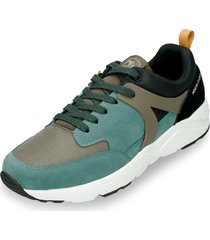 tenis verde north star wrarr r hombre