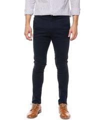 pantalón azul dn3 chino