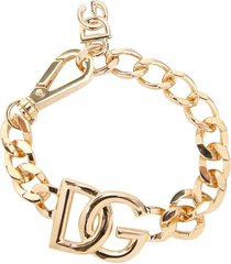 dolce & gabbana dg chain bracelet