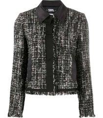 sparkle boucle jacket