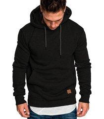 revenge hoodies hombre sudaderas rapper hip hop hooded pullover-negro