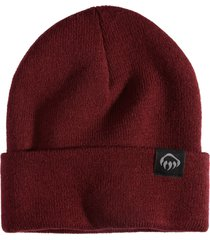 wolverine knit watch cap burgundy, size one size