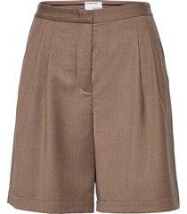 salerno shorts shorts chino shorts beige designers, remix