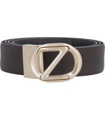 z zegna reversible leather belt