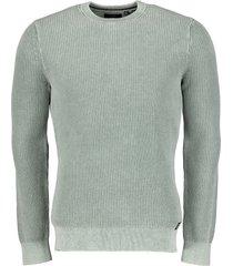 superdry pullover - slim fit - groen