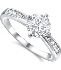 anillo compromiso amor casual blanco arany joyas