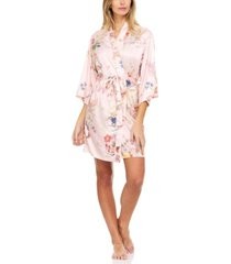 flora nikrooz collection petra printed wrap robe