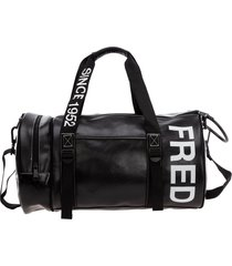 fred perry baroque duffle bag