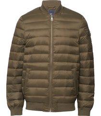 aiden bomber down jacket gevoerd jack groen lexington clothing