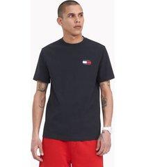 tommy hilfiger badge t-shirt black - xxxl