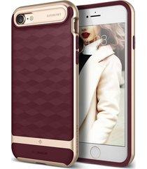 estuche protector caseology parallax iphone 7 - vinotinto