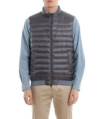 front zip padded gilet