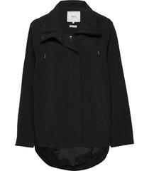 leya jacket regenkleding zwart makia