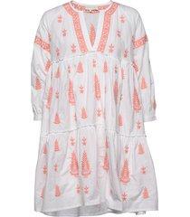mimi dress korte jurk wit by malina