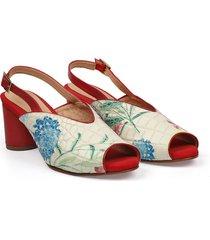 sandalia rojo glaudibel/002173