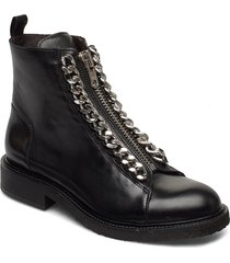 boots 27428 shoes boots ankle boots ankle boot - flat svart billi bi