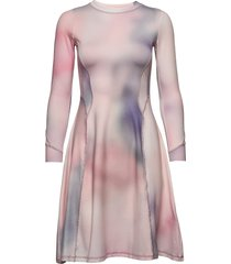 sue dress kort klänning rosa wood wood