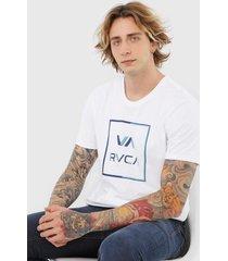 camiseta rvca circuit branca - branco - masculino - dafiti