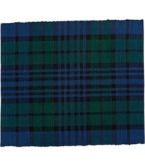 c f home watch plaid placemat, set of 6