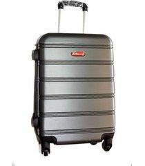 espectacular maleta pequeña 20 pulgadas cabina 4 ruedas 360º abs - gris