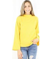 blusa paula mostaza jacinta tienda
