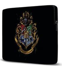 capa para notebook isoprene harry potter 15 polegadas com bolso