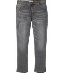 jeans termici elasticizzati regular fit straight (grigio) - john baner jeanswear