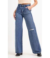 jean azul byh jeans oxford