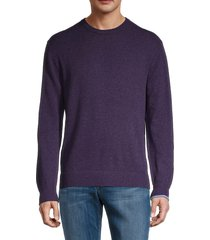 greyson men's wool-blend sweater - martin heather - size xl