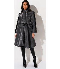 akira you want it zip up midi dress